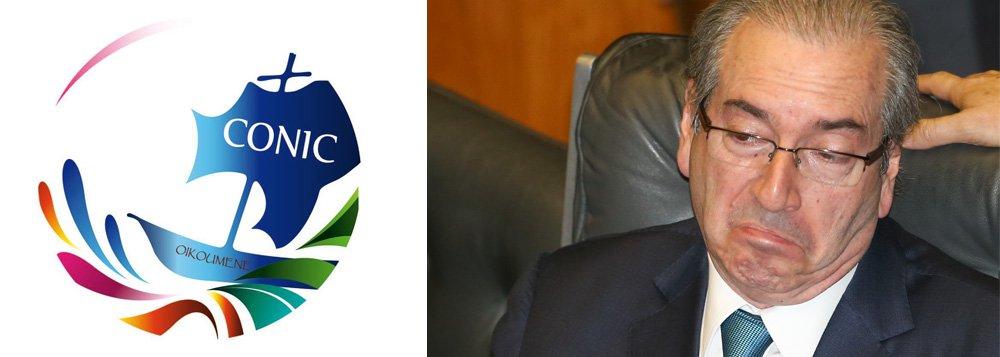 """Em nota,Conic, que reúne evangélicos e católicos, acusa o presidente da Câmara, Eduardo Cunha (PMDB), de se basear em 'argumentos frágeis' para abrir processo contra Dilma Rousseff:""""Perguntamos quais seriam as consequências para a democracia brasileira diante de um processo de deposição de um governo eleito democraticamente em um processo sem a devida fundamentação"""""""
