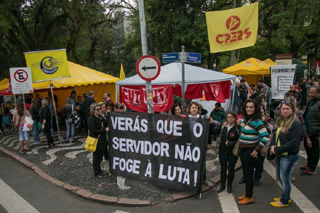 Mobilização contra Sartori permanece ativa