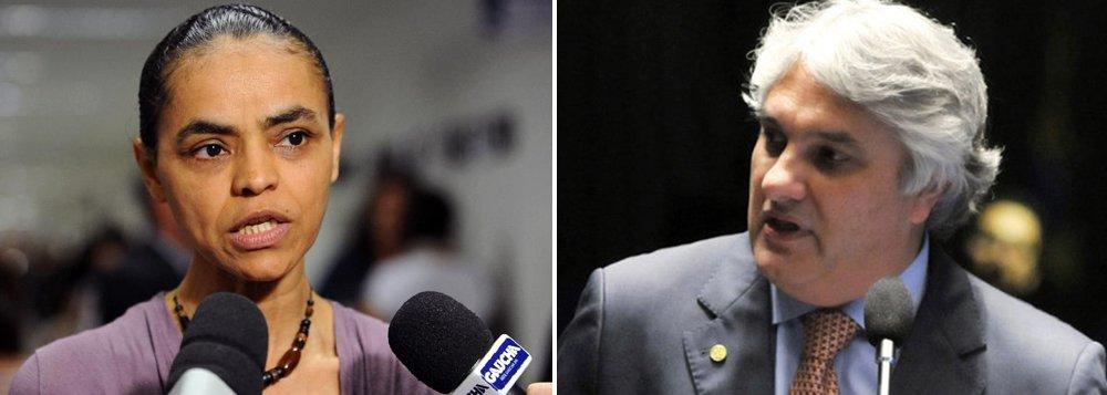 Representação da Rede, que será apresentada nesta terça-feira no Conselho de Ética pedindo abertura de processo para cassação do mandato do senador Delcídio Amaral (PT-MS), será assinada pela presidente do partido, Marina Silva; o mesmo deve ser feito pelos demais partidos de oposição na Casa, Democratas e PSDB