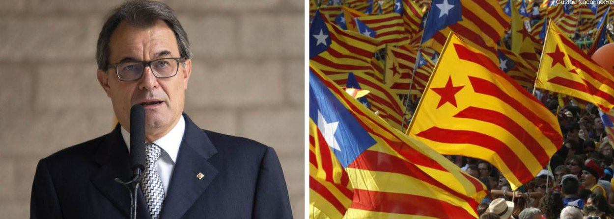 """Partidos separatistas conquistaram a maioria absoluta dos assentos no parlamento da Catalunha neste domingo, 27, colocando a região no caminho de uma declaração unilateral de independência da Espanha; principal grupo separatista """"Juntos pelo Sim"""" ganhou 62 assentos das 135 vagas na assembleia regional; eles ganharam em conjunto 47,33%; """"Os catalães votaram sim para a independência"""", afirmou o líder do governo regional, Artur Mas"""