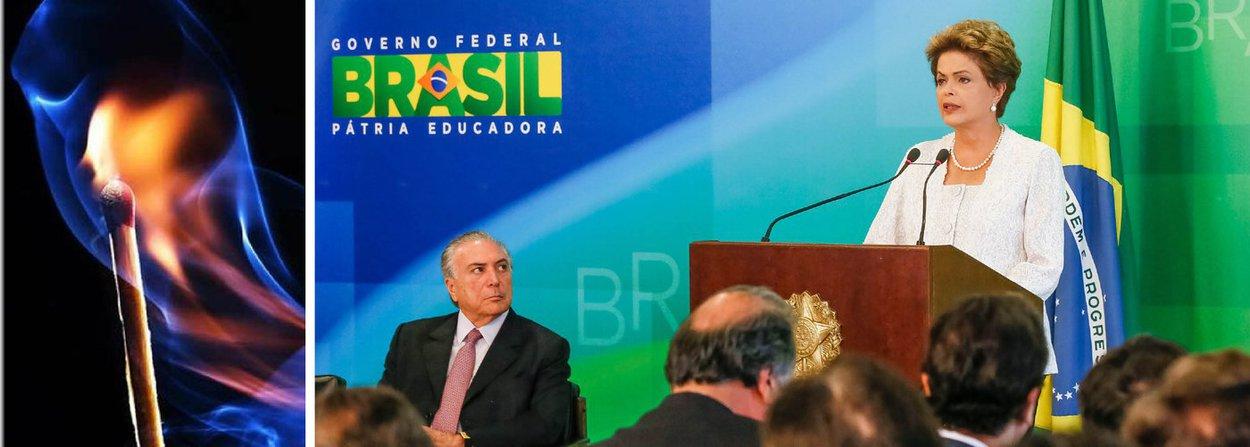"""""""A experiência universal ensina que as reformas ministeriais são como um palito de fósforo. O espetáculo visível dura pouco –o tempo exato de brilho da chama –até que só reste um desprezível palito queimado. O importante é saber se a chama deixou um fogo capaz de iluminar a escuridão"""", observa Paulo Moreira Leite, diretor do 247 em Brasília; ele destaca que """"o ministério anunciado por Dilma nesta manhã tem a finalidade essencial da sobrevivência política e foi um passo positivo""""; a melhor notícia da semana, segundo o jornalista, é """"a reaproximação política com Lula""""; PML prevê ainda a derrota do presidente da Câmara, Eduardo Cunha (PMDB-RJ), """"maior e mais poderoso inimigo"""" do governo"""