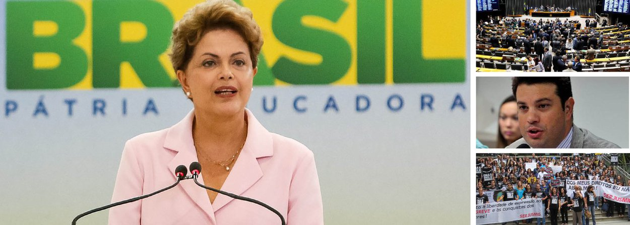 """""""Chegando de Nova York, a presidente Dilma terá pela frente uma quarta-feira perigosa, em que problemas diversos podem desaguar na sessão em que o Congresso apreciará dois vetos a projetos que criam despesas bilionárias. Um concede aquele reajuste polpudo aos servidores do judiciário. Outro estende a todos os aposentados do INSS o reajuste anual do salário-mínimo. Bombas que o Congresso armou e precisam ser desarmadas""""; o alerta é feito pela colunista Tereza Cruvinel; ela ressalta que para obter bons resultados, Dilma não poderá cometer qualquer erro no trato de duas questões: terá de sancionar a lei eleitoral sem vetar a nova regra para mudança de partido e terá que se acertar com PMDB da Câmara sobre a reforma ministerial"""