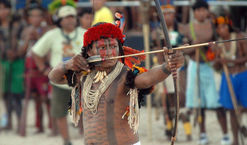 """Em nota pública, a comunidade indígena Apinajé questiona o investimento de R$ 160 milhões no evento esportivo, que acontece em outubro em Palmas, enquanto os nativos passam por """"dificuldades e violências""""; """"Não podemos aceitar e participar de um evento de caráter midiático e sensacionalista que tem por finalidade usar imagem dos povos indígenas para distorcer os fatos e mentir no exterior; ocultando a verdadeira realidade e o sofrimento dos povos indígenas do Brasil"""", diz a nota; é a segunda etnia indígena do Tocantins a desistir de participar das competições; primeira foi a comunidade Krahô, a maior comunidade indígena do estado"""