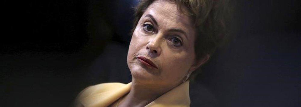 Presidente Dilma Rousseff no Palácio do Planalto. 2/9/2015 REUTERS/Ueslei Marcelino