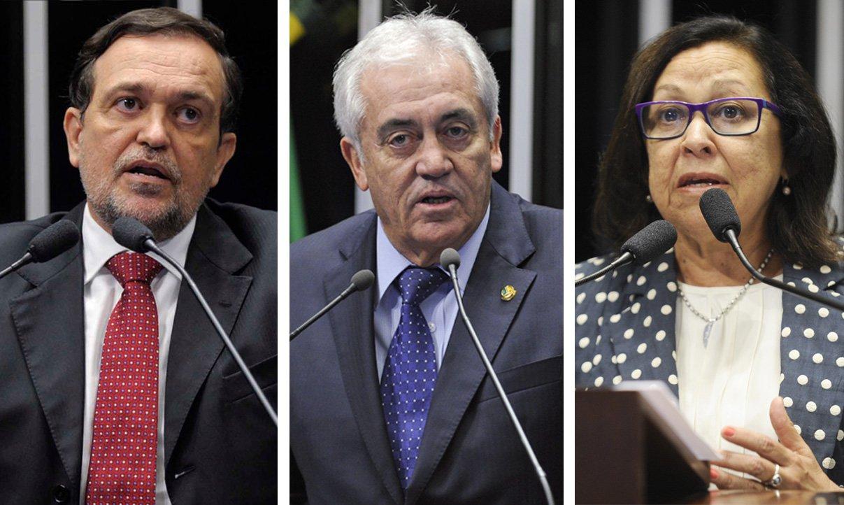Se a Câmara dos Deputados aprovar a abertura do processo de impeachment da presidente Dilma Rousseff, a decisão ainda precisará ser referendada pelo Senado. Neste caso, pelo menos na bancada baiana, a presidente conta com apoio integral da bancada baiana. Os três senadores já declaram que são contra o golpe: Walter Pinheiro (PT), Otto Alencar (PSD) e Lídice da Mata (PSB)