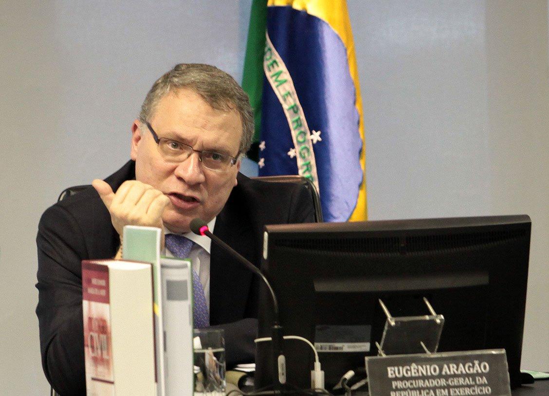 15/03/2016 - Brasília - DF, Brasil - Eugênio aragão subprocurador da repúblicas é novo ministro da justiça. Foto: Gil Ferreira/Agência CNJ. Foto: Gil Ferreira/Agência CNJ