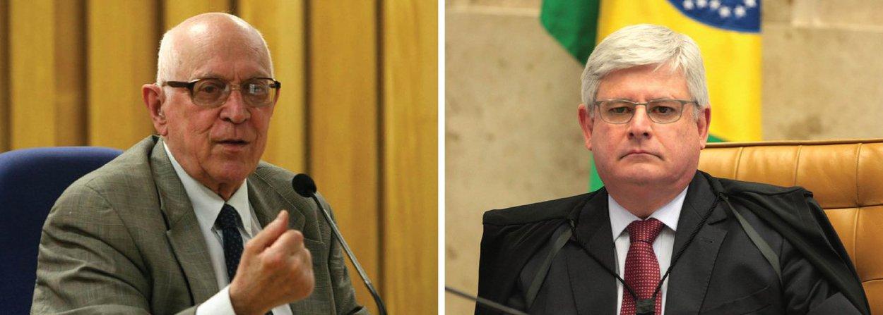"""Dalmo de Abreu Dallari, professor da USP e da Unesco, afirmou, nesta sexta (8), que a recomendação do procurador Rodrigo Janot contra a posse de Lula é """"absolutamente inconsistente e puramente, exclusivamente política, sem nenhuma consistência jurídica""""; """"Ele não indica qualquer ilegalidade na nomeação do ex-presidente Lula. Assim como na remessa da minuta de posse. Ele só diz que """"foge à normalidade"""", mas não diz que há uma ilegalidade"""", diz"""