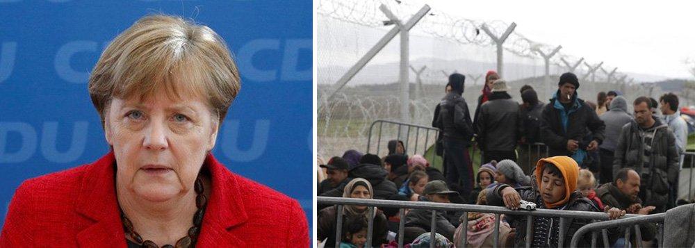 Partido da chanceler alemã, Angela Merkel, perdeu eleições em três estados nesse domingo, 13, numa reprovação à politica para os refugiados comandada por Merkel; partido de ultra direita Alternativa para a Alemanha, grande vitorioso das eleições, defende o fechamento das fronteiras da Alemanha para refugiados; país já recebeu 1,1 milhão de imigrantes em fuga do Oriente Médio, da África e de outras regiões no ano passado