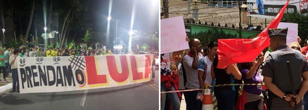 Integrantes de movimentos pró e contra o impeachment da presidente Dilma Rousseff (PT) marcaram atos em Maceió e pretendem mostrar força em torno dos seus objetivos; membros do Movimento Brasil devem iniciar um acampamento ainda na noite desta quinta-feira (17), na orla; já representantes de sindicatos fazem um ato nesta sexta-feira (18) na capital em defesa da democracia e contra um possível golpe