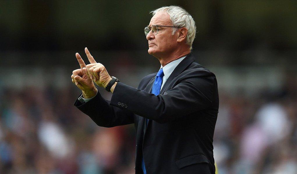 """Para o italiano Claudio Ranieri, """"foco"""" continua a ser a palavra-chave no momento em que uma das temporadas mais incertas da liga inglesa no passado recente entra em uma fase final potencialmente dinâmica e dramática"""