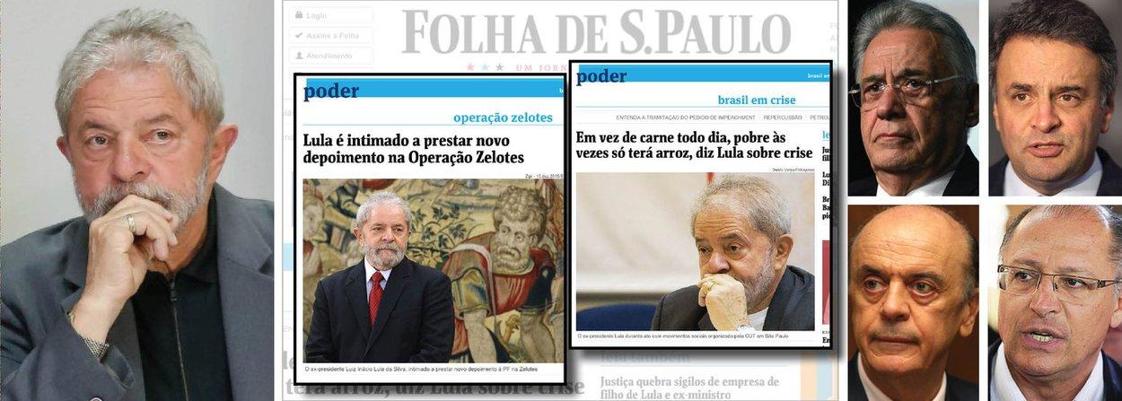 """""""Normalmente, erra quem pretende acertar. Não é o caso de parte da imprensa brasileira, quando o PT ou o ex-presidente Lula são o centro de suas matérias. Nesses casos, não há qualquer compromisso com a verdade"""", afirma o deputado Paulo Pimenta (PT-RS); em artigo, ele cita alguns exemplos de """"erros"""" da Folha de S. Paulo em relação a Lula e provoca: """"Por outro lado, é difícil recordar algum 'erramos' que diga respeito ao PSDB, Fernando Henrique, Aécio Neves, José Serra ou Geraldo Alckmin. Praticamente não existe. Curiosamente, os equívocos e gafes contra o PSDB são sempre favoráveis, como do tipo 'podemos tirar se achar melhor', sugestão para omitir a informação de que o DNA da corrupção na Petrobrás teve origem no governo FHC""""; leia a íntegra"""