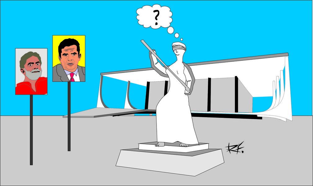 """Pois bem, nos dias atuais, vemos um ex-presidente da República sendo """"perseguido, malhado e torturado"""" todos os dias, pela imprensa e pelos oposicionistas ao governo Dilma Rousseff"""