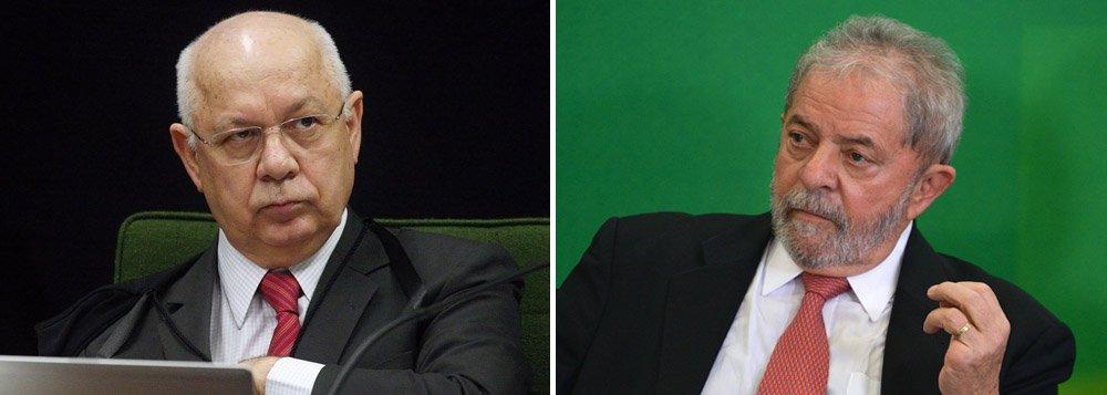 O plenário do Supremo Tribunal Federal vai analisar na quinta-feira a decisão liminar do ministro da corte Teori Zavascki que determinou o envio ao tribunal das investigações sobre o ex-presidente Lula, mas não está na pauta desta semana a análise da liminar que suspendeu a posse de Lula como ministro da Casa Civil