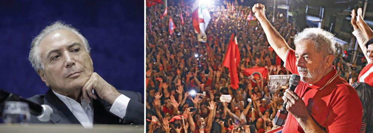 A depressão acelerada das condições sociais que virá por aí, se a aventura golpista se consumar, é um fator que tem que ser considerado: com o PSDB associado a Temer só restará o desgaste ainda maior, e a Lula, se não conseguir disputar a eleição de 2018, poderá eleger quem ele quiser