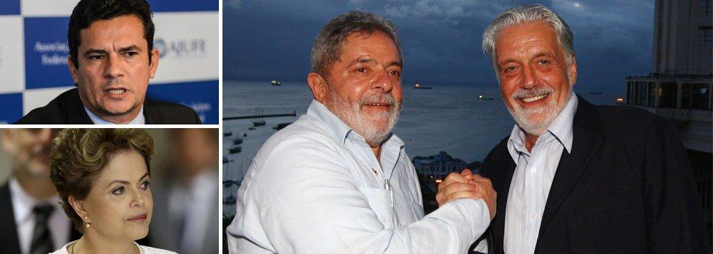 """""""Embora o ato de grampear, mesmo quando o grampo é legal, ou seja, tem autorização da Justiça, seja clandestino e ultrassecreto, ele não pode ultrapassar certos limites, que foram ultrapassados nos grampos do ex-presidente Lula"""", diz o colunista Alex Solnik; """"Conversas dele que não tinham relação com a Lava Jato foram grampeadas e divulgadas e – mais grave – a presidente e o ministro Jacques Wagner também foram grampeados, sem autorização do STF"""""""