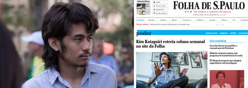 """Muito mais nocivo à sociedade do que a """"linguagem leve"""" que seus vídeos pressupõe, o discurso de Kim Kataguiri é dotado de um extremismo direitista e de intolerância, de conteúdo superficial e enviesado"""