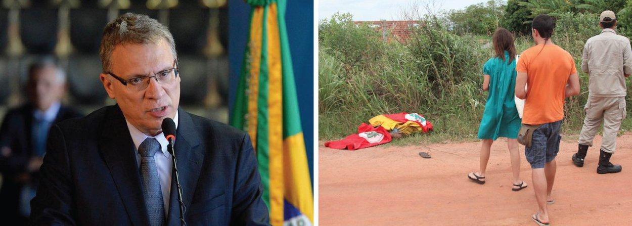 O ministro da Justiça Eugênio Aragão determinou nesta sexta (8) a abertura de inquérito na Polícia Federal (PF) para investigar os fatos ocorridos no município de Quedas do Iguaçu, no sudoeste do Paraná; dois integrantes do Movimento dos Trabalhadores Sem-Terra (MST) morreram durante operação da Polícia Militar