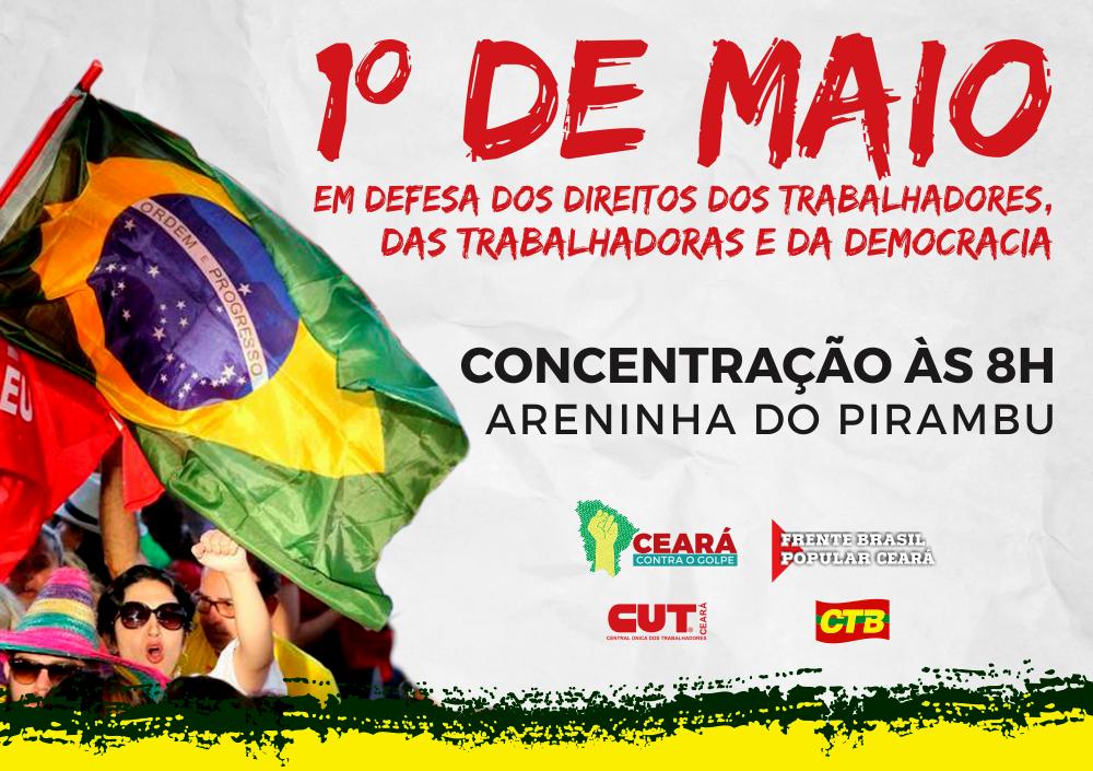 Diversas atividades acontecem a partir de hoje (29) e culminam no domingo, com um grande evento no 1o. de Maio, em defesa dos direitos dos trabalhadores e contra o golpe