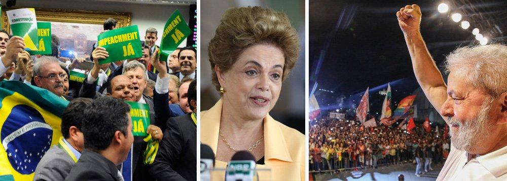 """""""Apesar do triunfalismo dos jornais, que já falam até em 'legado de Dilma', como fez a Folha, e do rasga-fantasia de Temer, o jogo continua, embora a oposição tenha tido mais votos que o esperado na comissão especial do chamado impeachment. E isso aconteceu enquanto 50 mil pessoas gritavam contra o golpe e aplaudiam Lula nos Arcos da Lapa, no Rio"""", escreve Tereza Cruvinel, colunista do 247; """"Agora, na contagem regressiva para a votação no plenário, entram fortemente em cena os fatores externos destinados a influenciar a disposição dos votantes"""", acrescenta a jornalista, citando entre eles a Lava Jato, a mídia e o vice Michel Temer; """"Mas seja qual for o desfecho de domingo, estaremos ainda muito longe do fim da crise"""", completa Tereza"""