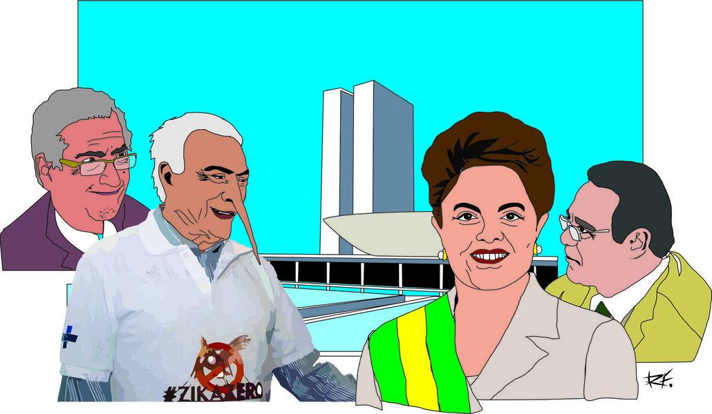 Nos causa estranheza que o nobre Vice-Presidente, depois de tantas lutas ao meu lado e duas eleições brilhantemente vencidas, abandone o nosso governo, num momento crucial para a democracia brasileira