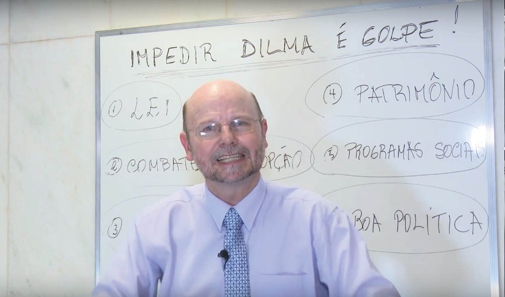 """Em vídeo, o deputado federalBohn Gass (PT-RS) afirma que há seis golpes em curso contra a presidente Dilma; """"o primeiro golpe é na lei, porque a Constituição é clara: só haver impedimento quando houver crime de responsabilidade"""", diz ele;segundo: um golpe no combate à corrupção;o terceiro, de acordo com o petista, é o que afronta os direitos dos trabalhadores; há ainda, segundo ele, um""""golpe no patrimônio do Brasil""""; e os dois últimos: """"um golpe nos direitos sociais"""" e """"um golpe na boa política""""; assista"""