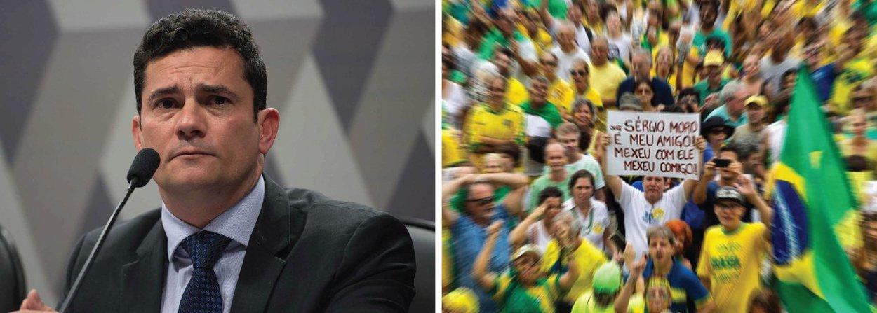 """Jornalista Ricardo Kotscho afirmou nesta segunda-feira, 14, que o juiz Sérgio Moro foi o """"grande vencedor"""" das manifestações deste domingo, 13; """"De fato, o juiz da Lava Jato foi a única liderança política (será que alguém ainda duvida disso?) que sobreviveu incólume ao tsunami do ronco das ruas que sacudiu o País de norte a sul para pedir o impeachment da presidente Dilma Rousseff e protestar contra o ex-presidente Lula, o PT e a corrupção"""", afirma; Kotscho ressalta que Moro virou uma unanimidade nacional, enquanto representantes de partidos políticos de oposição eram hostilizados; """"Ficou evidente que estamos chegando ao fim de um ciclo político, mas ninguém sabe ainda o que quer colocar no lugar"""""""