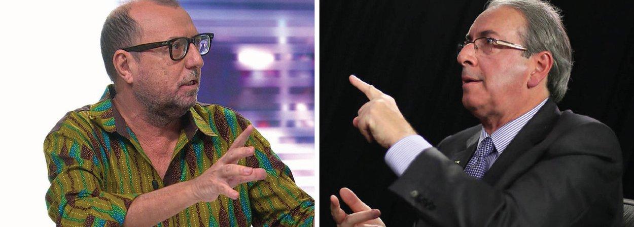 """Jornalista Xico Sá se revolta com a indignação dos """"amigos da mídia"""" apenas contra o ex-presidente Lula, mas não contra o presidente da Câmara, Eduardo Cunha (PMDB-RJ), que é réu no STF e agora comanda um processo de impeachment; """"Eduardo Cunha voltou com tudo e ñ sofreu uma questão da mídia brasileira. Zero. Num país minimamente sério Eduardo Cunha ñ pode comandar impeachment. Chega!"""", postou no Twitter"""