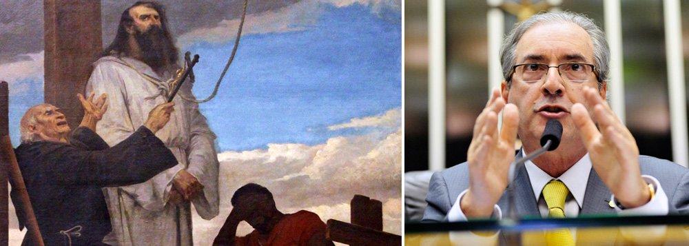 Impeachment da presidente Dilma Rousseff será votado na Câmara dos Deputados no feriado de 21 de abril, uma quinta-feira, de acordo com Claudio Humberto, do Diário do Poder; a intenção do presidente da Câmara, Eduardo Cunha (PMDB-RJ), era pôr o assunto em votação no domingo 17 ou 24 de abril, com o povo na rua, mas a tendência é que seja realizado mesmo no Dia de Tiradentes, segundo o colunista