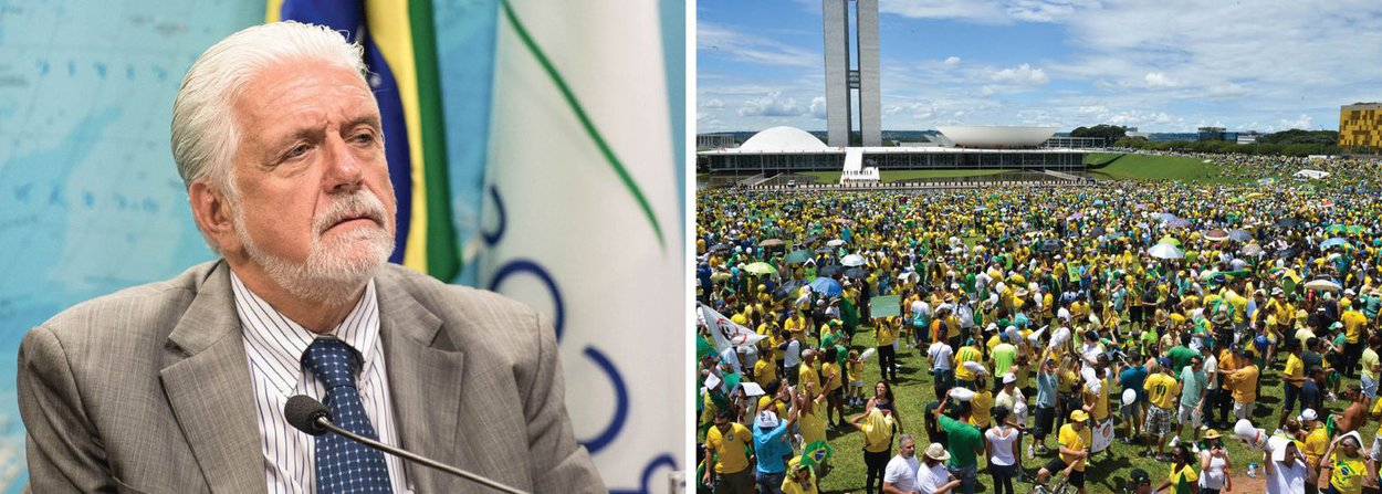 """O aumento da pressão pelo impeachment da presidente Dilma Rousseff pelas manifestações desse domingo, 13, não retirou do governo a confiança de que poderá enterrar o processo na Câmara; para o ministro-chefe da Casa Civil, Jaques Wagner, governo terá os 172 votos mínimos necessários para derrubar o pedido de afastamento de Dilma; """"Temos tudo para barrar o impeachment na Câmara ainda. Teremos os 172 votos necessários"""", afirmou; Wagner citou o perfil dos participantes dos protestos, em sua maioria de alta renda, disse que as manifestações foram """"grandes, mas segmentadas""""e não podem ser comparadas às das Diretas Já; """"As Diretas foram espontâneas"""", disse"""