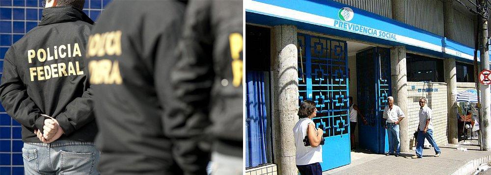 A Operação Capinagem, deflagrada pela Superintendência Regional da Polícia Federal (PF) em Alagoas, resultou no afastamento de quatro servidores do Instituto Nacional de Seguridade Social (INSS), demissão de outros dois, além de um que foi indiciado por fraudes contra a Previdência Social; irregularidades vinham sendo investigadas desde 2010, quando houve uma auditoria interna no INSS. 27 mandados de busca e apreensão e 32 de condução coercitiva foram cumpridos nesta terça-feira (15)