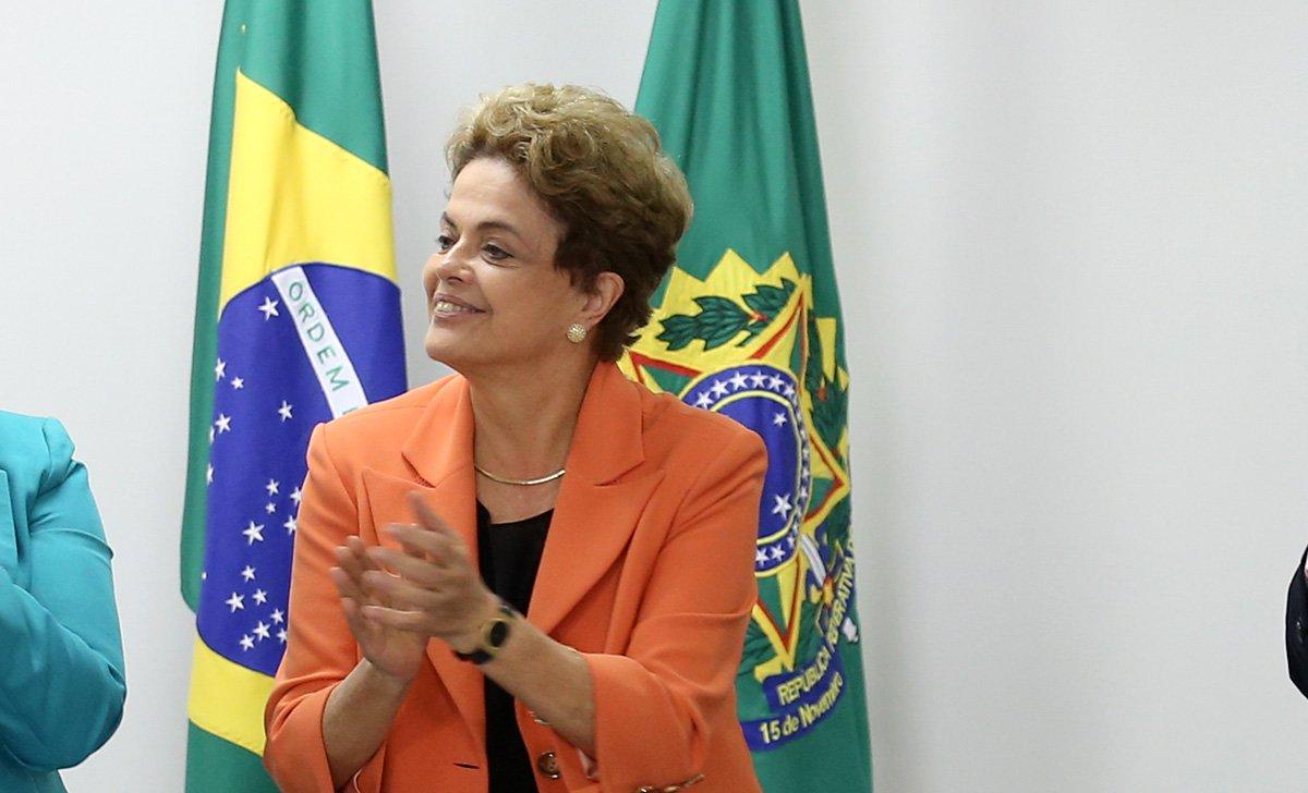 Brasília- DF 28-04-2016 Presidenta Dilma reunida Jean Wyllys Deputado Federal. Foto Lula Marques/Agência PT