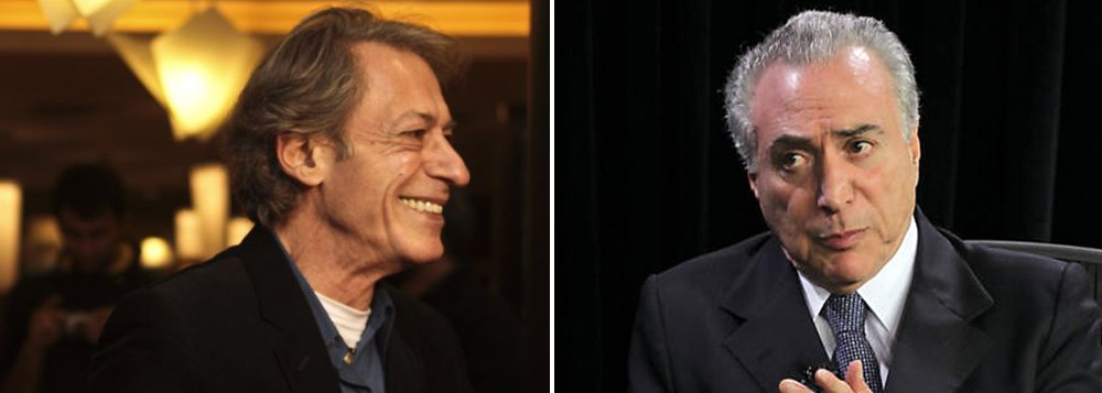 Colunista José Simão ironiza a carta de Michel Temer a Dilma Rousseff: 'O Temer tá fazendo a linha seduzido e abandonado! E avisa pro Temer que só adolescente dos anos 1990 terminava namoro por carta!'