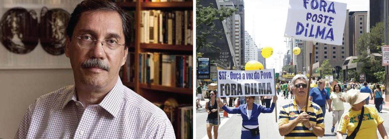 """Um dos primeiros defensores do impeachment da presidente Dilma Rousseff, o colunista Merval Pereira, do Globo, atribuiu o fiasco das manifestações desse domingo, 13, à """"precipitação"""" de seus organizadores; """"Movimentos que convocaram as manifestações de ontem se precipitaram. O momento é difícil e ainda tem o problema do Eduardo Cunha confundindo as coisas"""", afirmou"""
