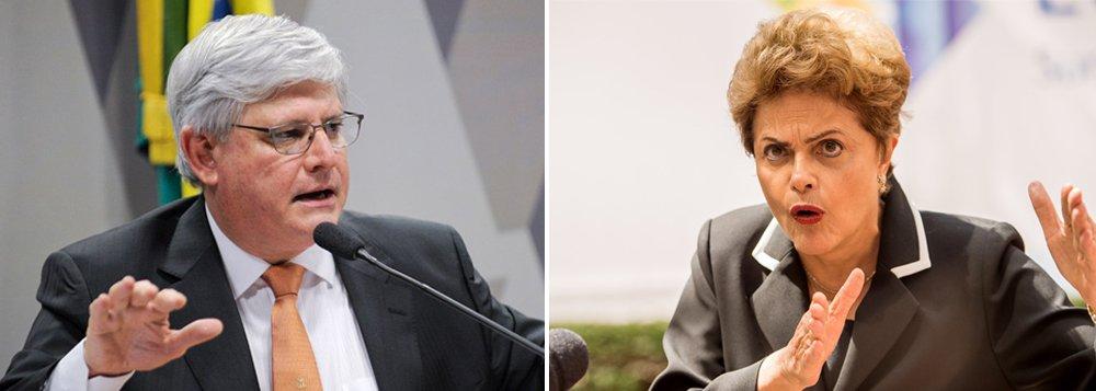 """Em Berna, na Suíça, o procurador-geral da República, Rodrigo Janot, afirmou nesta quinta-feira, 17, que ninguém é imune a investigações; ao ser questionado sobre a possibilidade de pedir a abertura de inquérito contra a presidente Dilma Rousseff por causa das suspeitas de tentar obstruir as investigações da Lava Jato, disse: """"Nosso trabalho é republicano. Não há pessoa fora de investigação"""""""