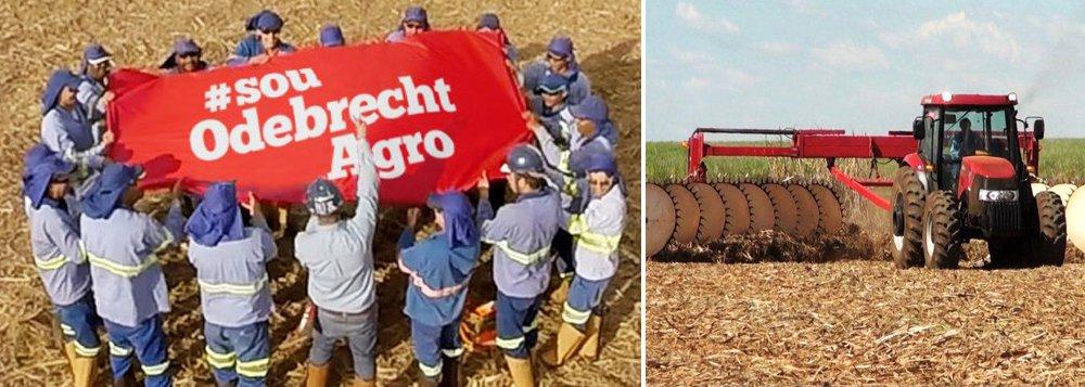 Segundo a colunista Mônica Bergamo, a renegociação da Odebrecht para alongar a dívida da Agroindustrial, braço do grupo no setor de etanol, prevê carência de quatro anos para que o débito, de R$ 10 bilhões, comece a ser pago; operação envolve ações da petroquímica Braskem em garantia; a Agroindustrial, segunda maior produtora de etanol do país, deve para Banco do Brasil, Santander, Itaú e Bradesco