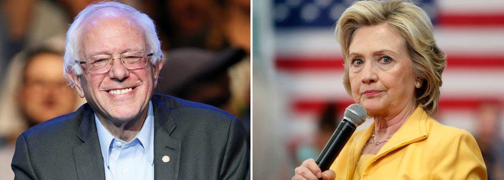 O senador Bernie Sanders surpreendeu a candidata Hillary Clinton e ganhou as eleições primárias dos democratas no estado de Washington, no mesmo dia em que venceu também no Alasca, dando um novo impulso à corrida presidencial dos Estados Unidos; com discurso socialista, Sanders é a grande surpresa da corrida eleitoral norte-americana