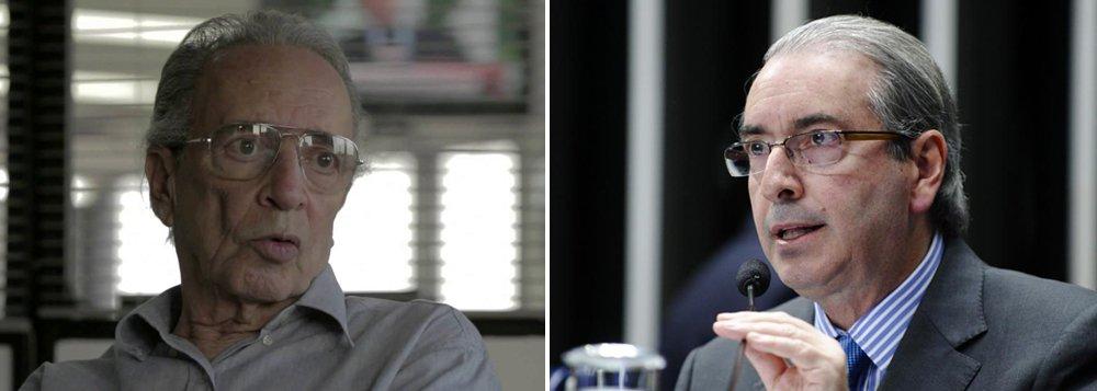 """Colunista Janio de Freitas critica a 'traição' do vice contra Dilma Rousseff e diz que Michel Temer precisou recorrer à combinação de ridículo e inverdade; ele também sugere que sua possível vitória pode ajudar réus da Lava Jato; 'dos """"anões do Orçamento"""" a Eduardo Cunha, a coleção é completa. Incluído, claro, o recordista, quando governador, de transações anuladas por fraude com as grandes empreiteiras. Se é um sinal para a Operação Lava Jato e seus desdobramentos, cabe-lhe interpretar. Por mim, pelo que já vi, nisso não percebo sinal, mas certeza'"""