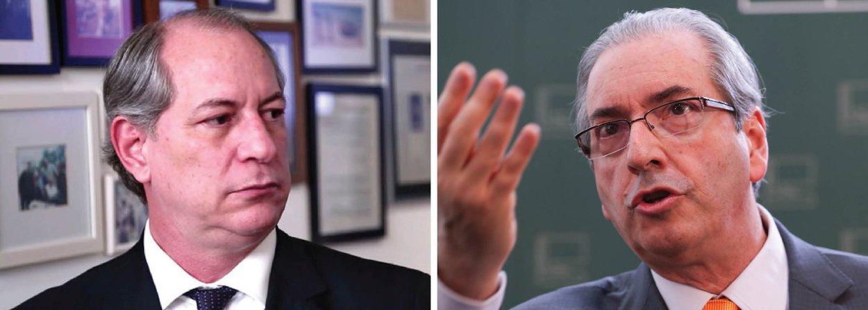 """Em vídeo divulgado em sua página no Facebook, o ex-ministro Ciro Gomes, presidenciável pelo PDT, voltou a denunciao golpe contra a presidente Dilma Rousseff;""""Um bando de ladrões querem atentar uma presidenta honesta"""", disse; Ciro não poupou críticas ao presidente Câmara, Eduardo Cunha (PMDB-RJ); """"Eduardo Cunha é ladrão, conheço ele há muitos anos. É bandido"""", afirmou, alertando para a defesa da democracia; """"Governo ruim, se a gente não gosta, passa ligeiro. Democracia não""""; veja vídeo"""