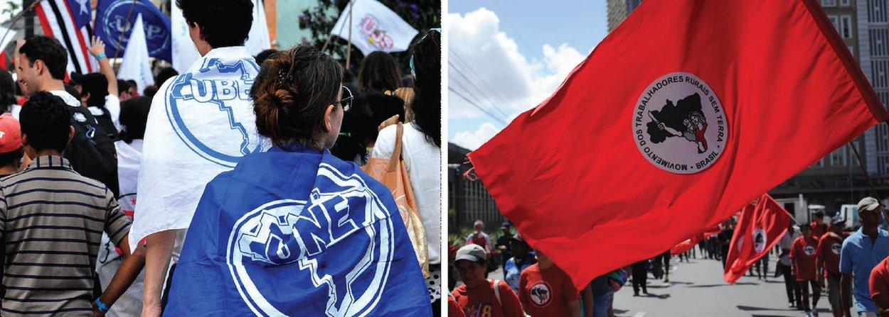 """Carina Vitral, presidente da UNE, vê a nomeação de Lula como algo positivo; """"Acho que a entrada de Lula fortalece o governo e isso é bom para o país. A crise econômica só avança com essa paralisia no país"""", diz; João Pedro Stedile, presidente do MST, espera que a ida de Lula ao governo """"barre os setores que querem o impeachment""""; """"Claro que a pequena burguesia, que foi à rua domingo (13), é reacionária, tem raiva de pobre e não aceita medidas a favor dos pobres, não vai mudar de opinião"""", diz"""