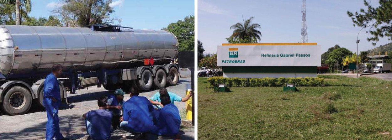 O transporte rodoviário de combustíveis produzidos na Refinaria Gabriel Passos (Regap), da Petrobras, na região metropolitana de Belo Horizonte, foi interrompido por transportadoras que reclamam da falta de demanda por serviços da petroleira, trazendo riscos ao abastecimento de Minas Gerais; a informação é do presidente do Sindicato das Empresas e Transportadores de Combustíveis e Derivados de Petróleo(Sindtanque-MG), Irani Gomes; de acordo com o sindicalista, cerca de 150 caminhões estão parados na entrada de refinaria, que tem capacidade para processar 150 mil barris de petróleo/dia e abastece grande parte do mercado mineiro; caminhões tanques são impedidos de entrar ou sair da refinaria