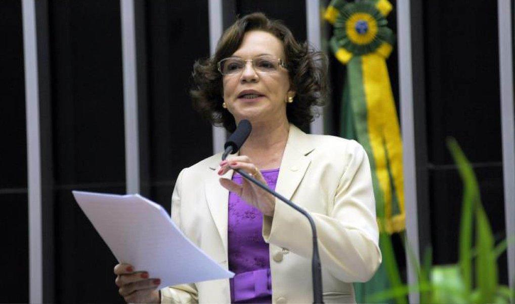 Presidenta Dilma Rousseff exonerou nesta sexta-feira 8 a diretora de Administração da Superintendência do Desenvolvimento da Amazônia (Sudam), Fátima Pelaes (foto), ex-deputada federal que havia sido indicada pelo PMDB; em seu lugar foi nomeada Margareth dos Santos Abdon, indicada pelo PP