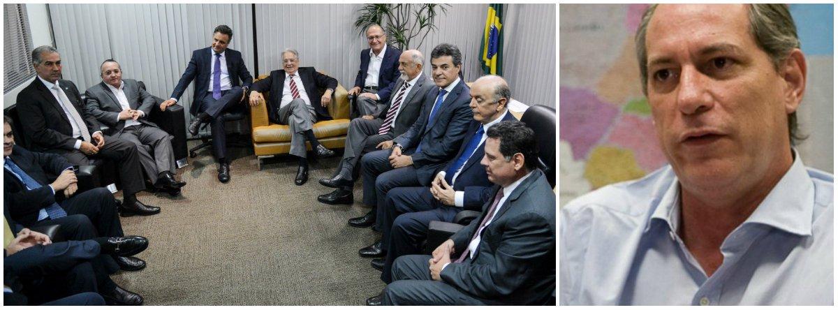 """Ex-ministro relembra ter ido às ruas em 1999 contra o impeachment do ex-presidente Fernando Henrique Cardoso e anuncia que repetirá o feito agora, com a mesma convicção; para ele, """"o PSDB perdeu o pudor e jogou sua história na lata do lixo""""; """"Tenho vergonha e pena do PSDB, mas o que mais me impressiona é a deslealdade do vice, que, depois de empurrar uma montanha de múmia paralítica para dentro do governo, vem com uma carta patética para Dilma"""", critica, ainda, Michel Temer"""