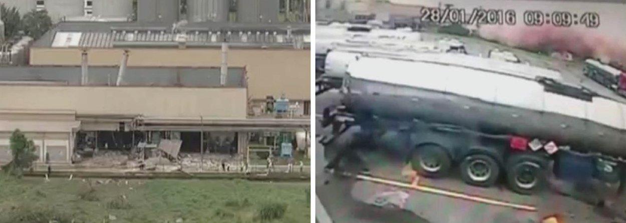 Explosão na fábrica da cervejaria Heineken em Jacareí, no interior de São Paulo, deixou duas pessoas mortas pelo menos três ficaram feridas, na manhã desta quinta-feira, 28; de acordo com o Corpo de Bombeiros, uma das pessoas atingidas teve 80% do corpo queimado e foi transportada em um helicóptero da Polícia Militar (PM); acidente ocorreu por volta das 10h30, com a explosão de uma caldeira na unidade que fica na Avenida Presidente Humberto de Alencar Castello Branco