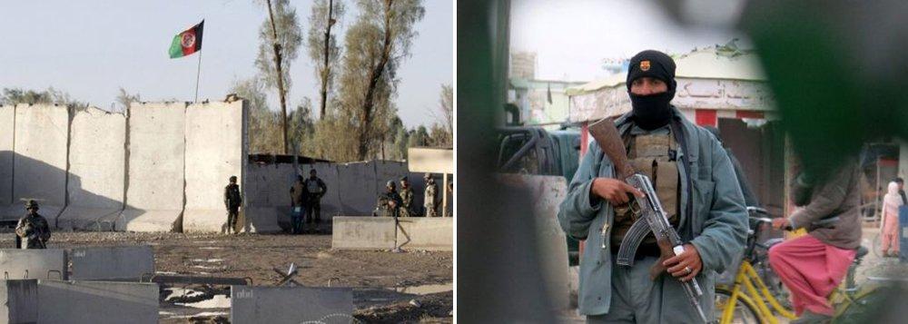 """Um ataque da milícia extremista talibã matou ao menos 37 pessoas, além de deixar outras 35 feridas, em um ataque ao aeroporto de Kandahar, cidade ao sul do Afeganistão, pelos talibãs; """"Nove insurgentes foram mortos, um outro está ferido e um último continua ativo"""", diss eo govceno por meio de nota; grupo reivindica a ofensiva contra o complexo, que integra uma zona residencial civil e uma base conjunta da Organização do Tratado do Atlântico Norte (Otan) e das tropas afegãs"""