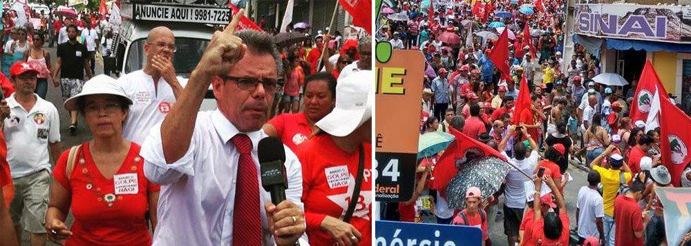 """Advogados alagoanos preparam um ato público contra o posicionamento de conselheiros da seccional estadual da Ordem dos Advogados do Brasil (OAB) de apoiar um possível processo de impeachment da presidente Dilma Rousseff; """"Em dezembro do ano passado, a OAB havia decidido não apoiar o processo, e agora, sem nenhum fato novo, decide apoiar a saída dela. Quais os motivos que levaram a essa mudança?"""", questiona Welton Roberto, um dos organizadores do ato"""