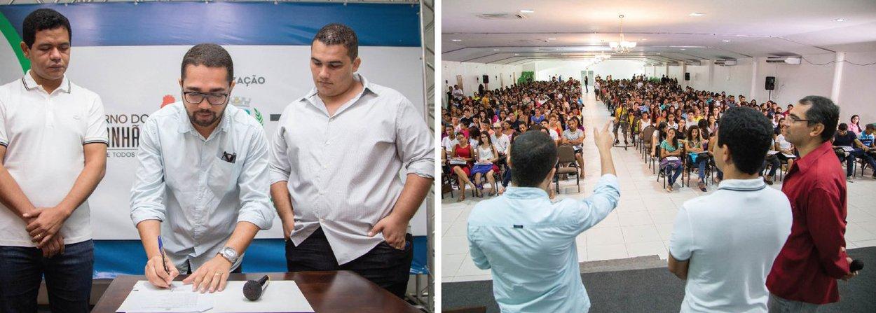 Na presença de mais de dois mil jovens, o governo do Maranhão, por meio da Secretaria de Estado da Ciência, Tecnologia e Inovação (Secti), lançou, em Timon, o Aulão do Enem 2016, um programa que será levado a mais de 50 municípios; este é o segundo ano que o executivo realiza o evento, que na primeira edição foi levado a 16 municípios maranhenses