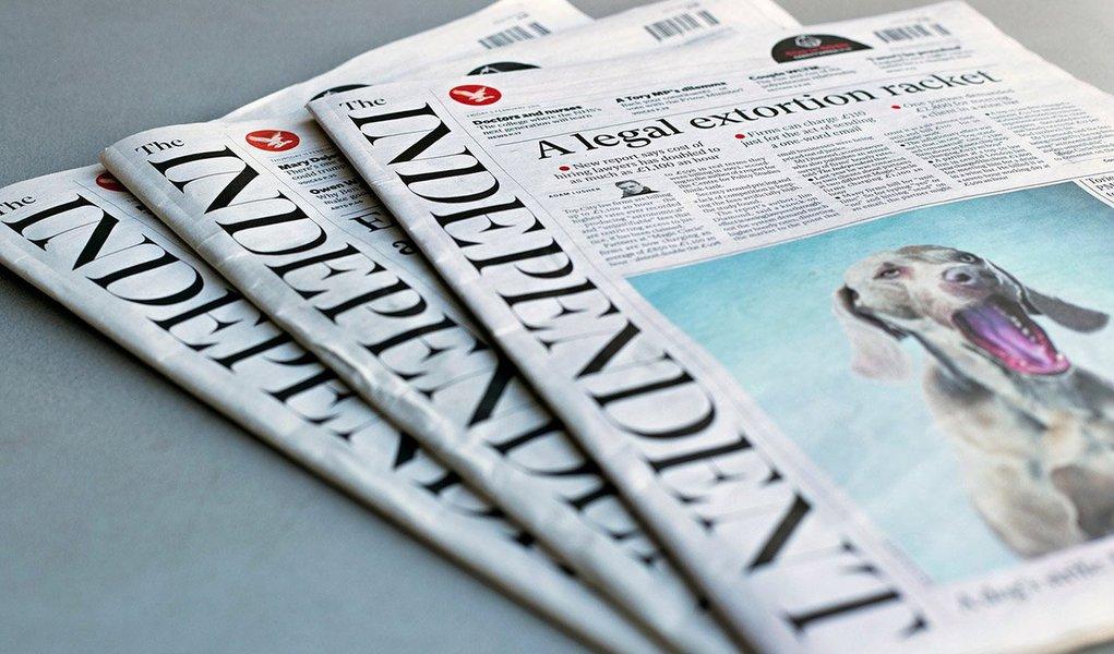 Um dos jornais mais importantes da Inglaterra, o Independent deixará de circular na versão impressa depois de 30 anos, informou nesta manhã o The Guardian; última edição deverá sair no dia 26 de março