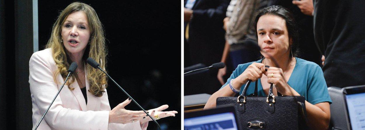 """A senadora Vanessa Grazziotin (PC do B/AM) criticou o discurso da autora do pedido de impeachment Janaina Paschoal na comissão especial no Senado, nesta quinta (28); """"A defesa oral da autora da denúncia Janaína Paschoal é constrangedora até para quem defende o impeachment. Nenhum argumento, nenhum fato. Faltou muito pouco para que a depoente repetisse no Senado o espetáculo protagonizado na USP há alguns dias"""", disse"""