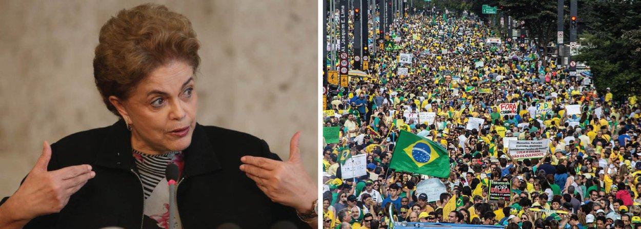 """""""A marca essencial dos protestos é a antidemocracia, o retrocesso. Quer-se impedir Dilma de governar sem apontar um crime de responsabilidade para interromper seu mandato"""", diz o colunista Paulo Moreira Leite; """"Para além da gritaria de ocasião, o que se quer é aprofundar medidas erradas e prejudiciais de política econômica, através de programas de austeridade e uma democracia fechada à participação popular e aberta a movimentos autoritários, indispensáveis num regime de cabresto""""; leia a íntegra"""