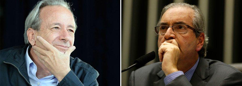 """Colunista Mario Sergio Conti ressalta a """"honradez pessoal"""" de Dilma Rousseff e critica os que tentam associá-la à escândalos: 'Querer ligá-la à corrupção é, pois, injustiça extravagante. No entanto, lá está ele, Eduardo Cunha, o Sinistro, à frente da horda que quer expulsá-la do Planalto. O cretinismo parlamentar, expressão três vezes repetida em """"O 18 do Brumário"""", contaminou a nação'"""